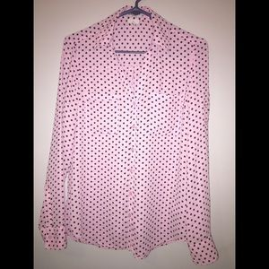 Women's Express Slim Portfino button down shirt